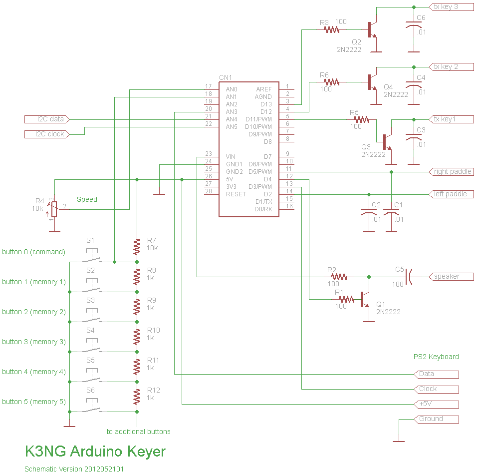 210 Build: Schematic · k3ng/k3ng_cw_keyer Wiki · GitHub on arduino circuit schematic, arduino led schematic, arduino mini schematic, arduino uno schematic, attiny85 schematic, arduino r3 schematic, arduino board schematic, photocell schematic, arduino ethernet schematic, arduino pro schematic, arduino mega schematic, arduino shield schematic, speaker schematic, arduino micro schematic, arduino schematic pdf, breadboard schematic, arduino lcd schematic, arduino pinout diagram, ultrasonic schematic, arduino relay diagram,