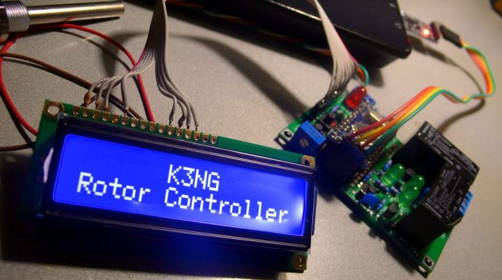 Speaking, amateur digital controller yes can
