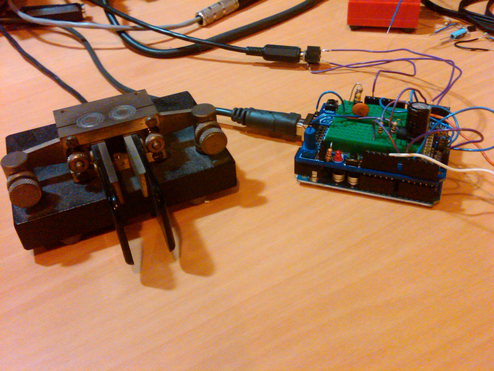 From the Workbench: Arduino CW Keyer • AmateurRadio com