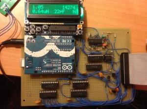 Tuner Rev A Prototype Control Board